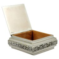 Mid Century Iparmuveszeti Vallalat Hungarian Art Metalware Box Alexander Moga