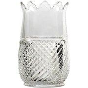 EAPG Riverside Glass America Spooner Celery Vase Antique Pressed Glass