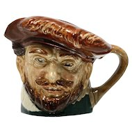 Royal Doulton Toby Mug Sir Francis Drake Jug Vintage 1940s Pottery English