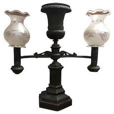 B Gardiner Argand Lamp
