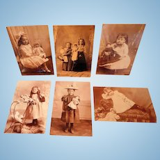 Theriault Postcards of Vintage Photographs of Antique Dolls