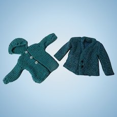 Sweater and Jacket for Fashion Doll