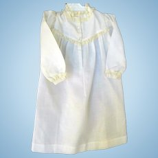 """15"""" White Gown for Doll"""