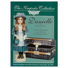 Danielle, 3-Dimensional Paper Doll and Keepsake Trunk, Uncut