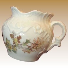 Art Nouveau LIMOGES Floral Table or Tea WASTE POT Cache c.1892