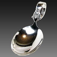 Art Deco BABY SPOON Jenny Lind Pattern by Weidlich Sterling, no mono, c.1938
