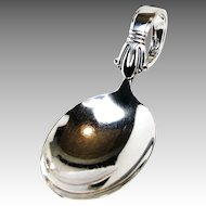 Art Deco BABY SPOON Jenny Lind by Weidlich Sterling, c.1938 No Mono