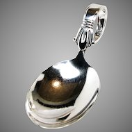 BABY SPOON Art Deco, Jenny Lind by Weidlich Sterling, c.1938 No Mono