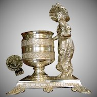 James Tufts Toothpick Urn, Hors d'oeuvres Picks, Kate Greenway c.1880's