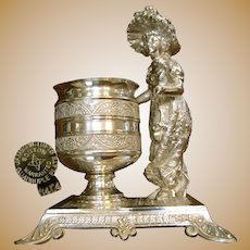 JAMES TUFT'S Kate Greenway Hors d'oeuvres Pick  / Toothpick Urn c.1880's