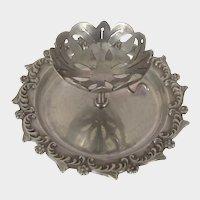 Victorian ~TEA BAG/Infuser BALL-Holder ~Fancy Sterling Silver
