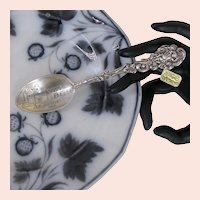 ~Captured in SILVER~ 'A Day 'n City of Angels'~ Plaza Church Spoon~