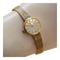 Vintage 14k Gold 535 Dugena Ladies Watch Manual Wind