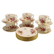 "Royal Crown Derby "" Derby Posies""  Dessert Set"