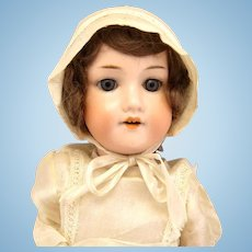 Antique Armand Marseille 390 Bisque Doll Crier All Original