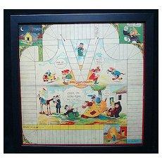 Framed Game Board ~ Google and SPARK PLUG 1923