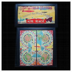 2 Framed Game Boards ~ World FLYERS 1927