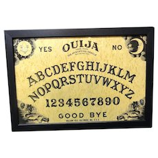 Framed Spirit Game Board ~ OUIJA 1930-1950