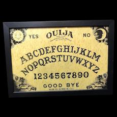 Framed Spirit Game Board ~ OUIJA 1930-1950