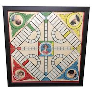 Antique Parker Brothers Board Game ~ Pollyanna c 1915