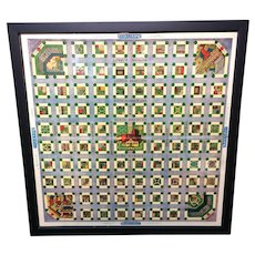 Framed Early Game Board ~ SAFETY CITY 1925
