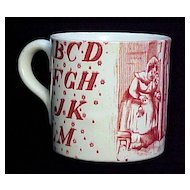 c 1880 ABC Mug ~ Little Jack Horner