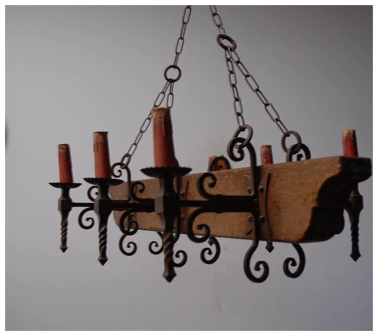 A french vintage wood wrought iron 6 light castle chandelier a french vintage wood wrought iron 6 light castle chandelier aloadofball Images