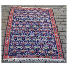 Beautiful Vintage Persian Carpet Rug Beautiful Colors