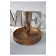 A Wooden Nut Cracker with Bowl