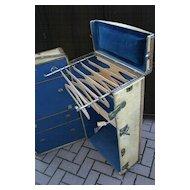 Antique Luggage Steamer Trunk Chest