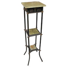 Beautiful Good Looking French Empire Dore Bronze & Brass Plant Stand