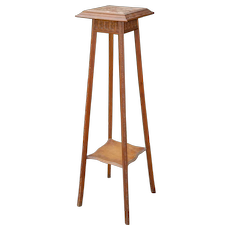 Art Deco Plant Stand Table carved Wood Furniture