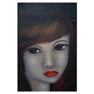 Modern Oil Painting Women Figure Portrait