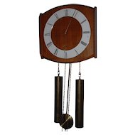 Vintage Modern Retro Design Wooden Wall Clock