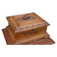 Nice Black Forest Desk or Table Cigar Casket