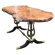 Empire Bronze Coffee Table Swan Supports