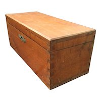 Large Sturdy Dovetail Joint Beech Wood Box
