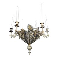 Bronze Neo Gothic Art Chapel Chandelier