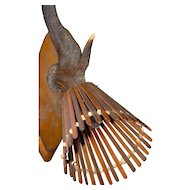 Vintage Wood - Deer Antler Wall Sconce Hunting