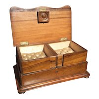 Antique Victorian Jewelry Box - Casket