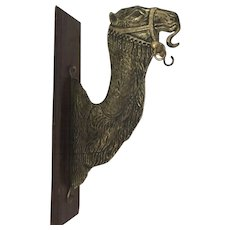 Camel Brass Wall Mounted Dinner Gong