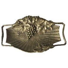 Vintage Shaped Bronze Tray Serving Bowl