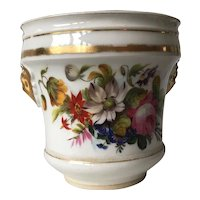Flower Hand Painted Porcelain Jardiniere Planter