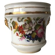 Flower Hand Painted Porcelain Jardiniere Planter