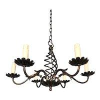 Nice Flower Motif / Design Brass Pendant Light