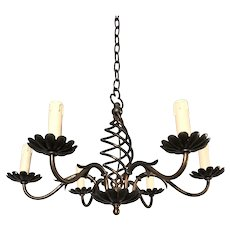 Nice Flower Motif / Design Brass Pendant Light