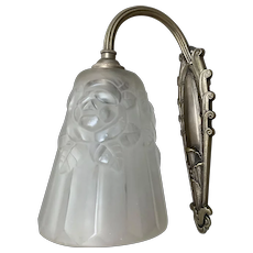 French Art Deco Wall Sconce, Wall Light