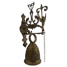 Vintage Bronze Wall Cloister Bell
