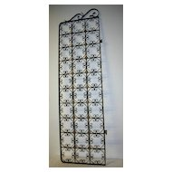 A Graceful French Wrought Iron Door Rack