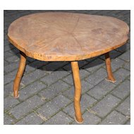 Lovely Piece of Trunk  Walnut  Coffee Table / Side Table